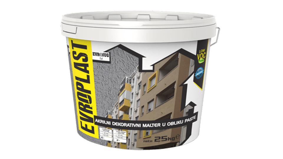 evroplast zavrsni malter za fasadu 3d gradjevinska kuca